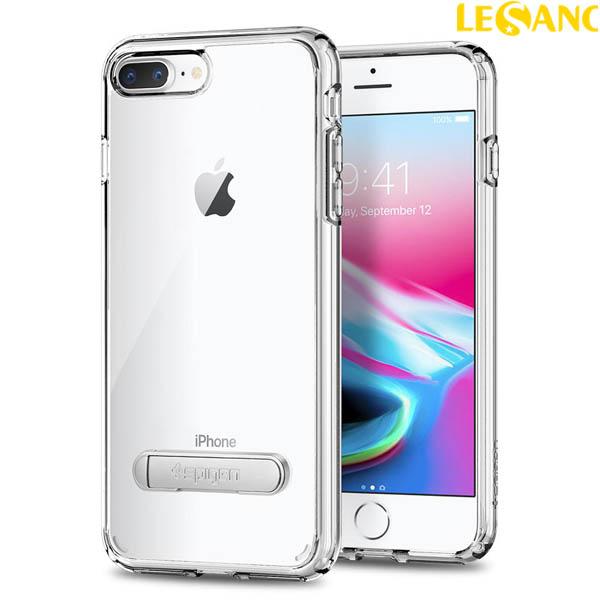 Ốp lưng iPhone 8 Plus / 7 Plus Spigen Ultra Hybrid S có chân chống