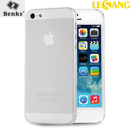 Ốp lưng iPhone SE/5S/5 Benks Magic Lollipop 0.4mm