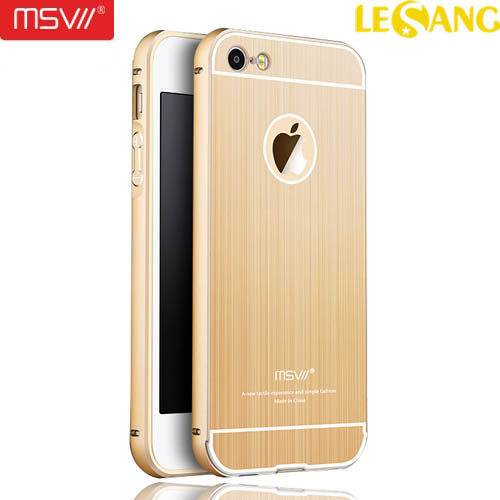 Ốp lưng iphone SE/5S/5 MSV Metal Diamond Cut