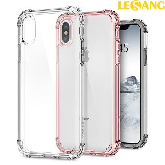 Ốp lưng iPhone X / iPhone 10 Spigen Crytal Shell chống sốc