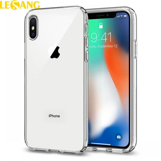 Ốp lưng iPhone X / iPhone 10 Spigen Liquid Crystal Clear