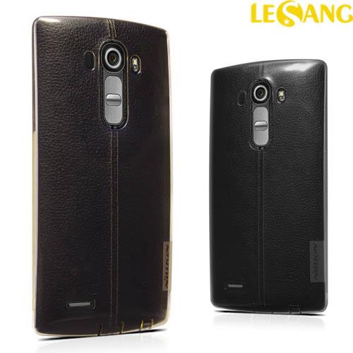 Ốp lưng LG G4 Nillkin TPU nhựa dẻo trong suốt