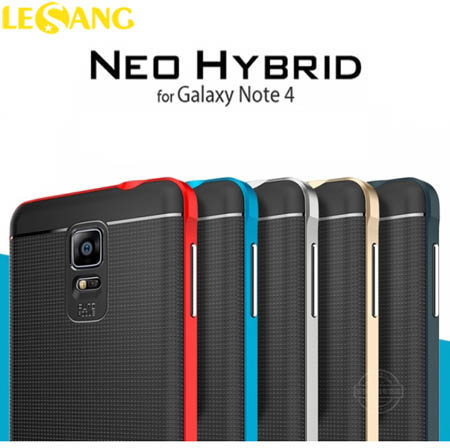 Ốp lưng Note 4 SGP (Spigen) Neo Hybrid (USA)