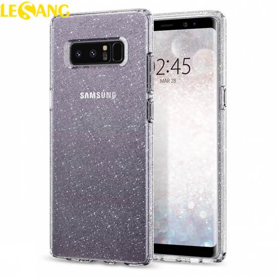 Ốp lưng Note 8 Spigen Liquid Crystal Glitter lấp lánh kim tuyến