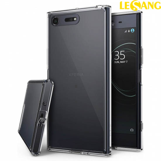 Ốp lưng Sony XZ Premium Ringke Fusion trong suốt