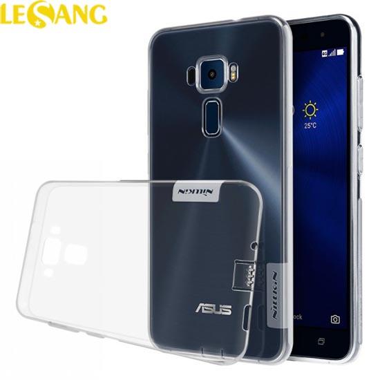 Ốp lưng Zenfone 3 5.5 inch ZE552KL Nillkin nhựa dẻo trong suốt