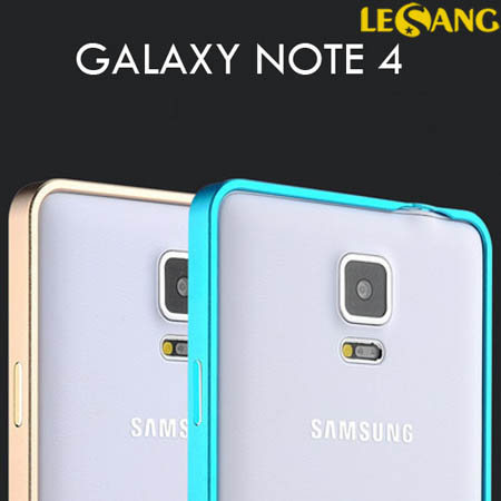 Ốp viền Galaxy Note 4 Love Metal