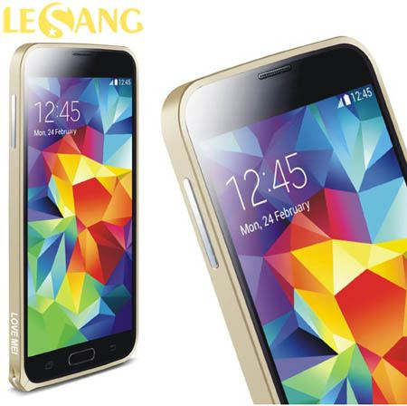 Ốp viền Galaxy S5 Love Metal