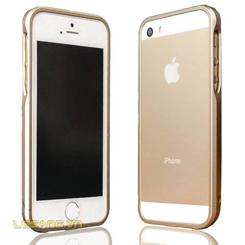 Ốp viền Iphone 5/5s Sword Metal Gold New