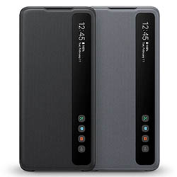 Bao da Clear View S20 Ultra Wallet Cover chính hãng Samsung (Full Box)