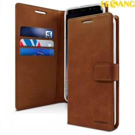 Bao da Galaxy Note 8 Mercury Blue Moon Wallet
