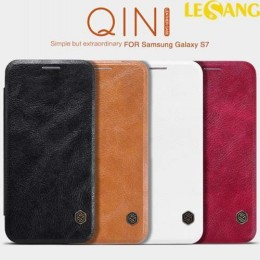 Bao da Galaxy S7 Nillkin QIN Leather