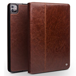 Bao da iPad Pro 11 2020 / 2021 Qlino Wallet da bò thật