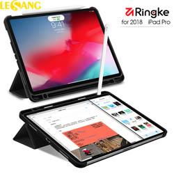 Bao da iPad Pro 12.9 (2018) Ringke Smart Case + Kính cường lực