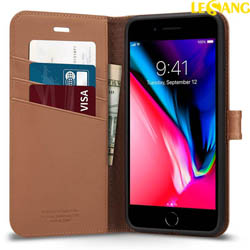 Bao da iPhone 8 Plus / 7 Plus Spigen Wallet S ví đa năng