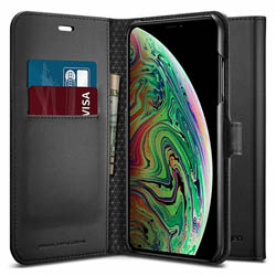 Bao da iPhone XR Spigen Wallet S