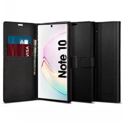 Bao da Samsung Galaxy Note 10 Spigen Wallet S