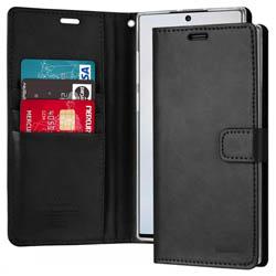 Bao da Samsung Note 10 Mercury Blue Moon Wallet