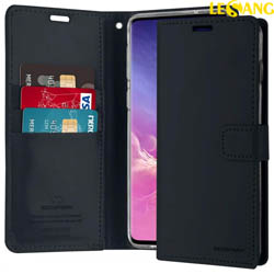 Bao da Samsung S10 Mercury Blue Moon Wallet Diary