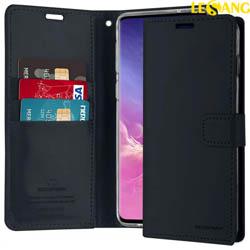 Bao da Samsung S10E Mercury Blue Moon Wallet Diary