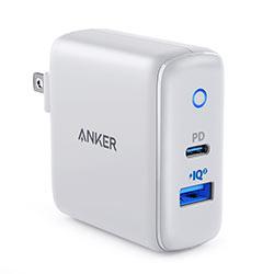 Củ sạc nhanh iPhone 12 - Mac Anker PowerPort PD+2 35W - A2636 - 2 cổng