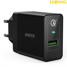Cục sạc nhanh Anker PowerPort +1 Quick Charge 3.0 - 18W (USA)