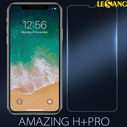 Dán kính cường lực iPhone XS Max Nillkin H+ Pro 0.2mm