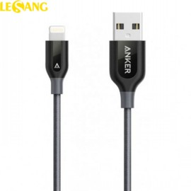 Dây cáp sạc iPhone 6/7/8/X Lightning Anker PowerLine+ 0.9m (USA)