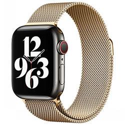 Dây đeo Apple Watch Coteetci Milanese Loop Magnet 42 / 44mm thép không rỉ