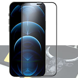 Kính cường lực iPhone 12 / 12 Pro MiPow Kingbull HD Premium - BJ211S (Silk)