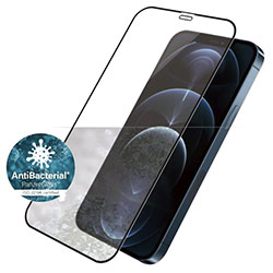 Kính cường lực iPhone 12 Pro Max PanzerGlass Black Kháng khuẩn