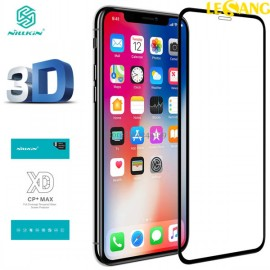 Kính cường lực iPhone X / XS Nillkin 3D XD+ Full dùng được với ốp lưng