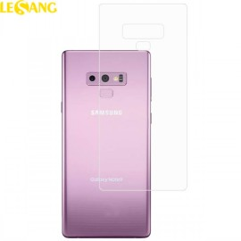 Miếng dán Full mặt sau Galaxy Note 9 trong suốt