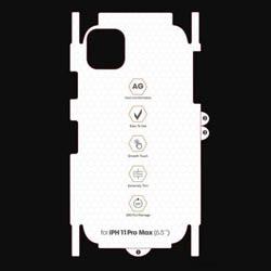 Miếng dán PPF iPhone 11 Pro nhám mờ Full mặt lưng