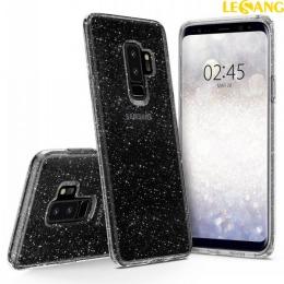 Ốp lưng Galaxy S9 Plus Spigen Liquid Crystal Glitter lấp lánh kim tuyến