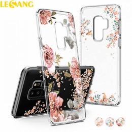 Ốp lưng Galaxy S9 Plus Spigen Liquid Crytal Blossom