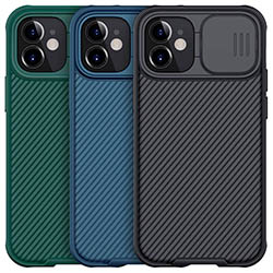 Ốp lưng iPhone 12 Pro Max Nillkin Camshield bảo vệ Camera