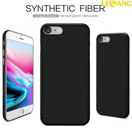 Ốp lưng iPhone 8 Synthetic Nillkin Fiber Green Carbon