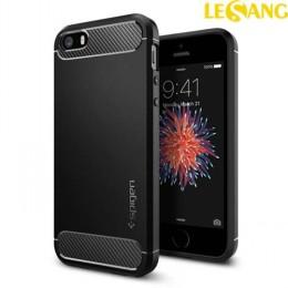 Ốp lưng iPhone SE/5S/5 Spigen Rugged Armor nhựa mềm