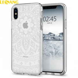Ốp lưng iPhone X Spigen Liquid Crystal Shine