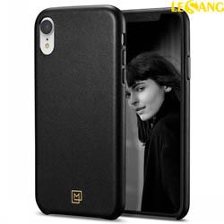 Ốp lưng iPhone XR Spigen La Manon Calin Leather