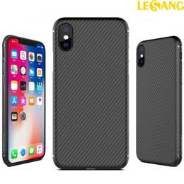 Ốp lưng iPhone XS Max Nillkin Fiber sợi Carbon