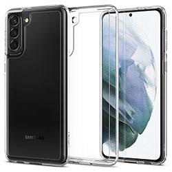 Ốp lưng Samsung S21 Plus Spigen Ultra Hybrid Trong suốt