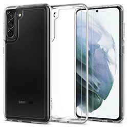 Ốp lưng Samsung S21 Spigen Ultra Hybrid Trong suốt